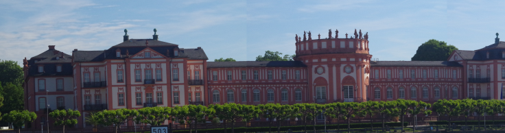 Schloss Biebrich - 3 Shots merged