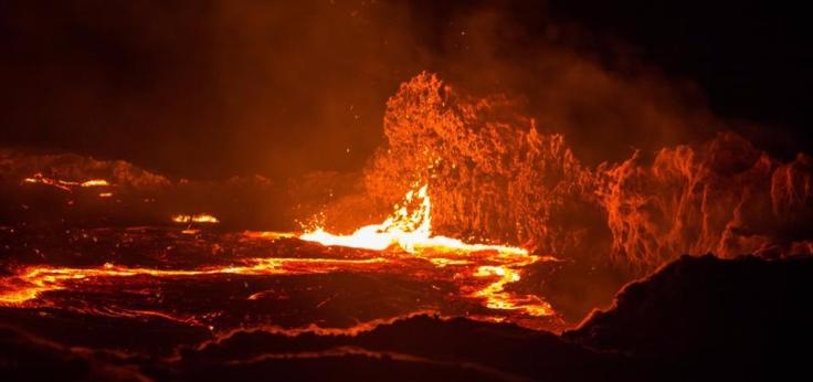 Forbes image - lava lake