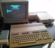 Commodore 128, Monitor, Disk Drive