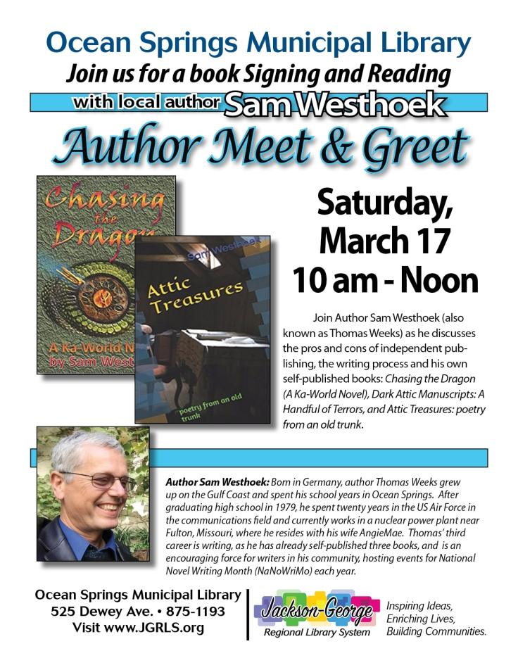 20180317 - Author Meet & Greet - OS Library